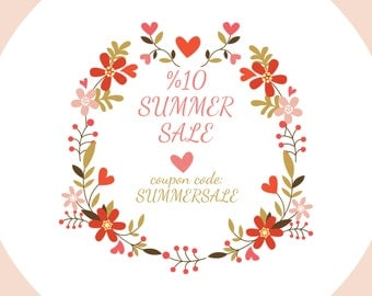 SUMMER SALE,  Discount coupon code: SUMMERSALE