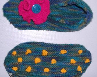 WOOL SLIPPERS-wool slippers