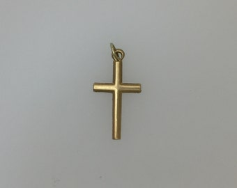 9ct Gold Cross Charm