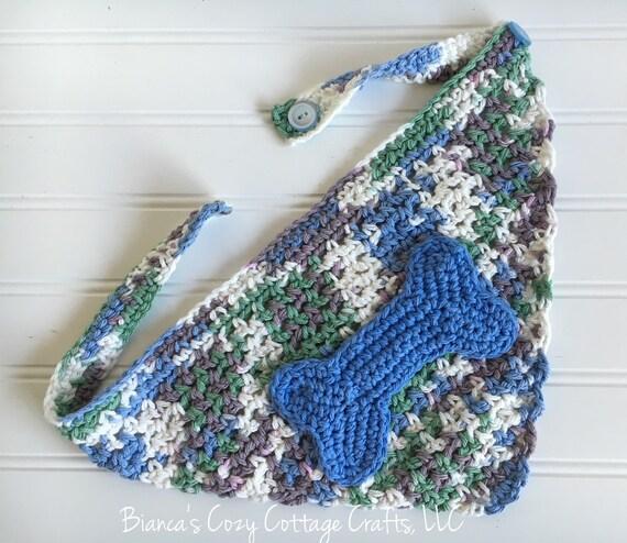 Pet bandana dog bandana crochet bandana for pets cat