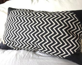 Decorative cushion on lamb leather . 12 X 9 inch