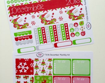T101    December Christmas Monthly Kit