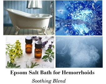 Epsom Salt for Hemorrhoids, Epsom Salt Bath for Hemorrhoids, Epsom Salt Bath for Piles, Home Treatment for Hemorrhoids,