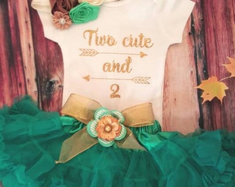 Two cute and 2 Birthday outfit, Birthday shirt and tutu, birthday outfit,