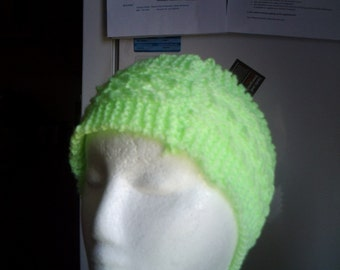 handknitted lace headband