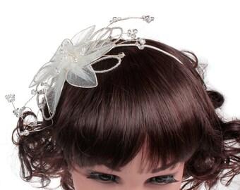 Childrens Wedding Headdress, Flower Girl Headdress, Communion Headdress, Bridal, Wedding, Bridesmaids Children