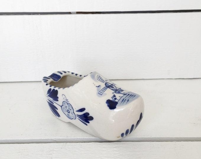 Ceramic Dutch Clog Collectible Ashtray