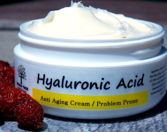 Hyaluronic Acid - Anti Aging Face cream - Wrinkle Cream-  Problem Prone/Oily skin