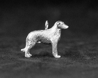 Sterling Silver Irish Wolfhound Charm