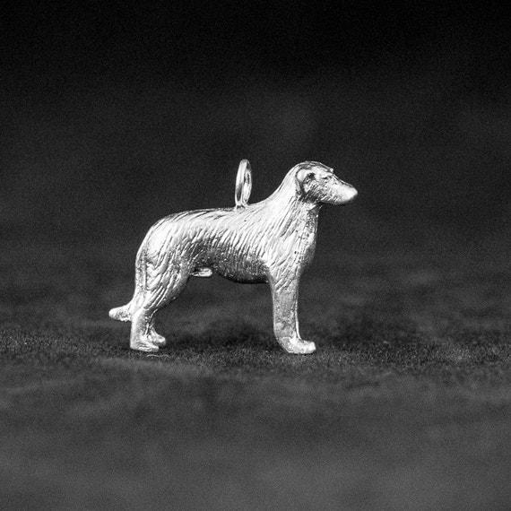 Sterling Silver Irish Wolfhound Charm Silver Irish by ...