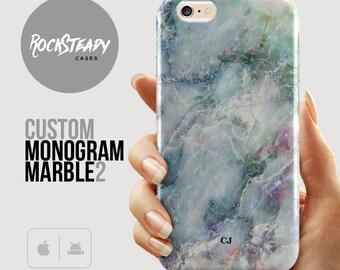 Custom Marble iPhone 6s case, iPhone 7 Plus,  name Samsung Galaxy s7, s6, s5 case, iPhone 6s case, iPhone 6s Case, Galaxy S5 case, Monogram