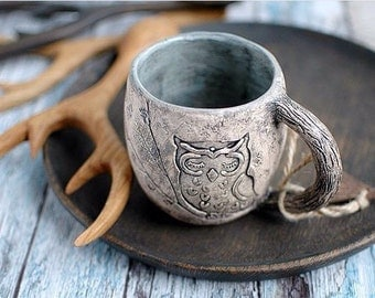 Ceramic mug,ceramic cup, handmade pottery rustic style cup