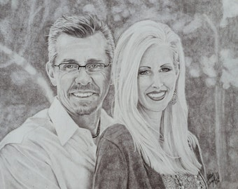 Custom 11x14 Charcoal Portraits
