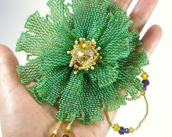 brooch flower bead
