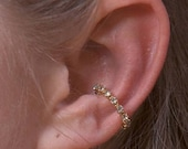 Single Crystal Band - Ear Cuff