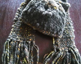 Pure Merino Wool Scarf & Hat  2