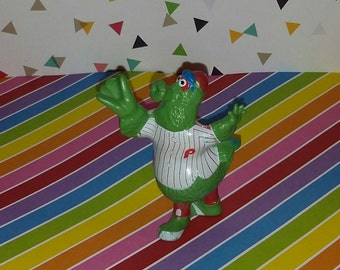 Vintage 1987 Phillies Phanatic PVC Mascot Figure (Catching Figure)