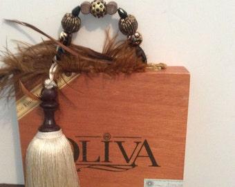 Olivia cigar box purse