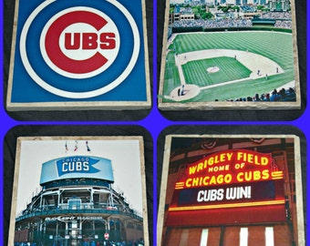 Chicago Cubs Coasters - Is this the year???!