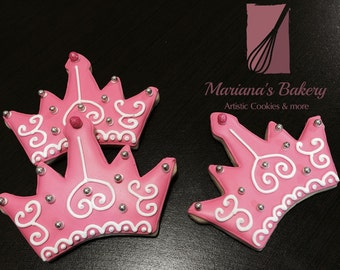 Princess Crown sugar cookies (1 dozen)