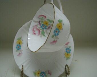 Teacup & saucer Bell Fine Bone China England