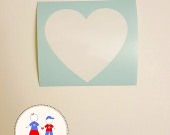 Heart Decal