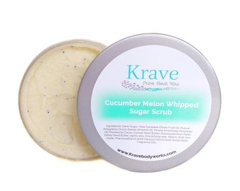 Emulsified Sugar Scrub - Cucumber Melon - Sugar Scrub – Bath & Beauty – SkinCare