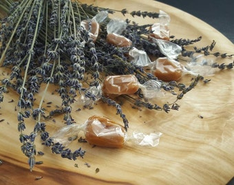 Lavender Honey Caramels