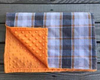 Baby Blanket, Minky Baby Blanket, Flannel blanket, Receiving Blanket, Baby Shower Gift