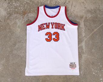 Mitchell and Ness Patrick Ewing New York Knicks Jersey Sz. 52