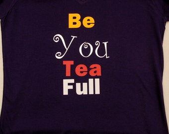 Beautiful slogan t-shirt ladies