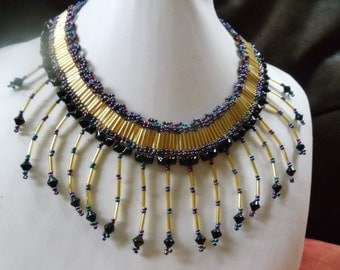 Statement necklace Cleopatra