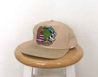Summer Sale THE BIG ISLAND Hawaii Tan Baseball Cap