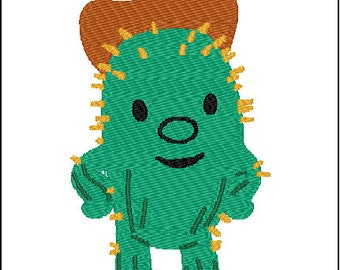 Toby Embroidery Design