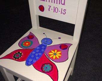 Children's chair - Butterfly