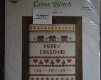 Needlemagic counted thread cross stitch Merry Christmas