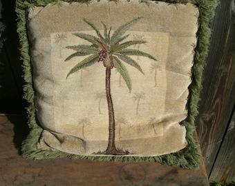 Beautiful Tropical Print Pillow