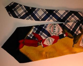 91.  Tabasco Silk Tie