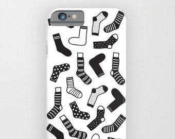 Socks illustration iPhone slim case