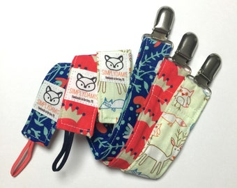Pacifier Clips (choose one), Stylish Pacifier Clips