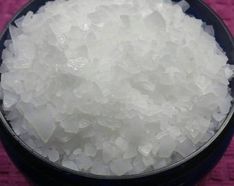 Magnesium Bath Salt, Magnesium Chloride, Dead Sea Salt, Bath Soak, Magnesium Flakes, 8oz