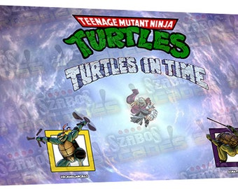 Turtles in time Art CPO