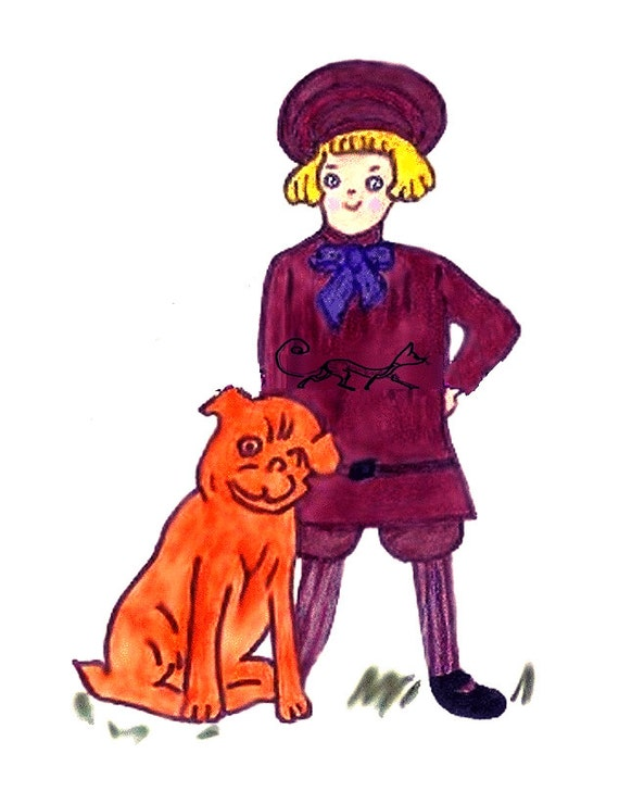Vintage Forties PDF Sewing Pattern to make Buster Brown A ...