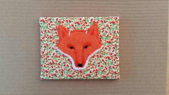 Embroidered Fox