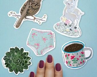 Everyday Beauty - sticker set