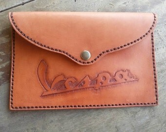 Customizable leather case (small)-Personalized leather case (small)