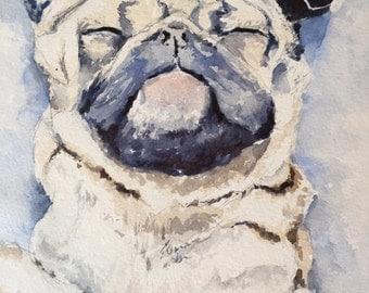Pet Portrait, Custom Pet Art, Dog Portrait, Cat Portrait