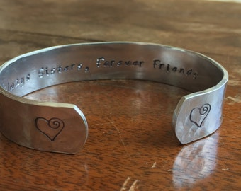 """Always Sisters, Forever Friends ... Curly Hearts 