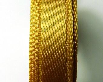 30 meters Satin ribbon 13mm gold