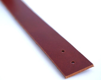 2 cm/ 0.79 inches Maroon Brown Leather Straps / Leather Handles, bag straps,bag handles, craft supplies, anses cuir